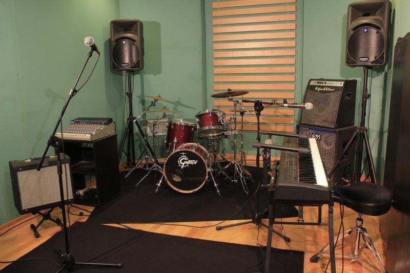 Piccola Sala Prove : Sala prove piccola 16 mq per band di 4 5 componenti